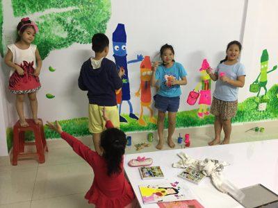 Thỏa sức sáng tạo tại Kid Talent Nursery